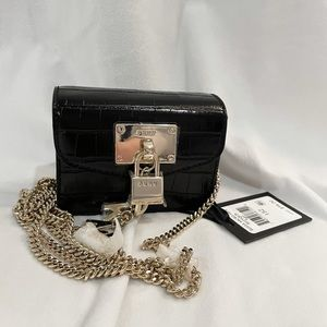 NWT DKNY Card Holder Small Case With Chain